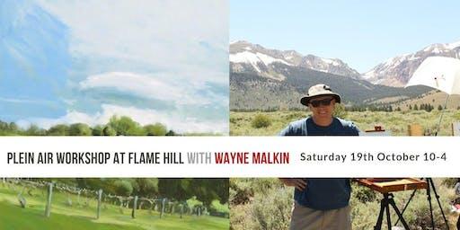 Plein Air Workshop at Flame Hill Vineyard with Wayne Malkin