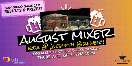 IGDA SD | August Mixer tickets