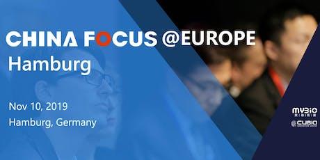 China Focus @Europe Hamburg 2019 Tickets