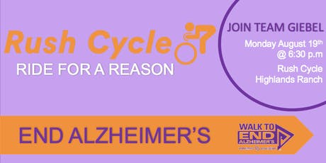 Ride for a Reason - End Alzheimer's tickets