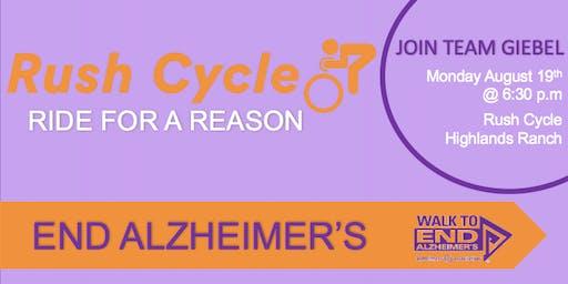 Ride for a Reason - End Alzheimer's