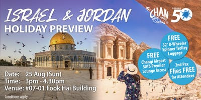 Israel & Jordan Holiday Preview