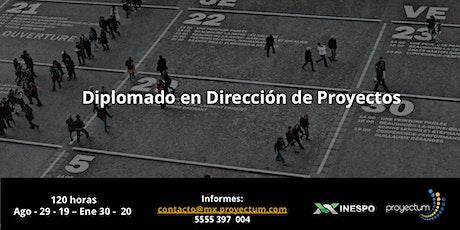Diplomado en Dirección de Proyectos - INESPO - Proyectum entradas