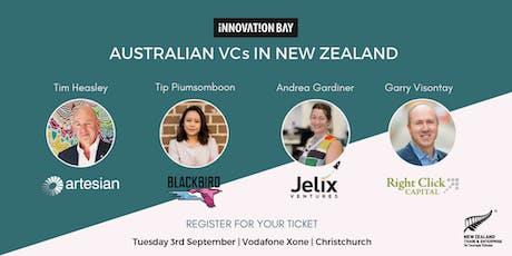 Australian VC's in NZ tickets
