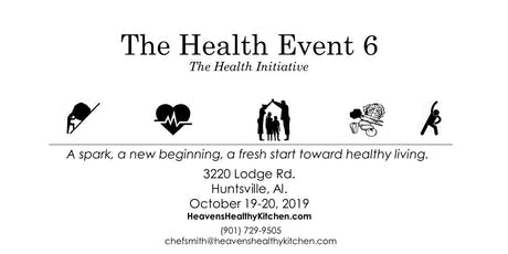 The Health Event 6 tickets