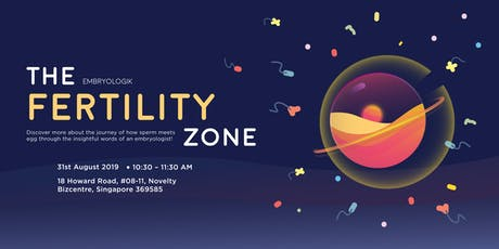 """Learn about """"The Fertility Zone"""" with Chief Embryologist - Mr Kamal Jalil tickets"""