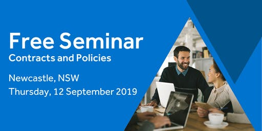 Free Seminar: Contracts and policies – Newcastle, 12th September