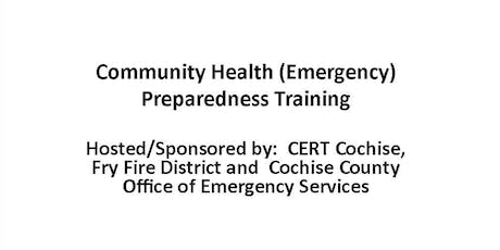 Community Health Preparedness Training   FREE * tickets