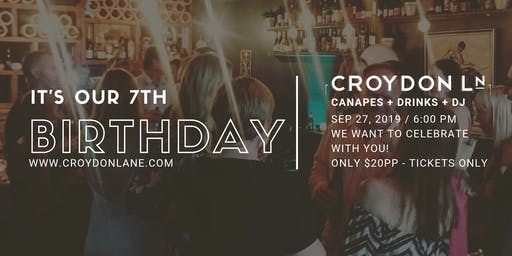 Croydon Lane's 7th Birthday Party