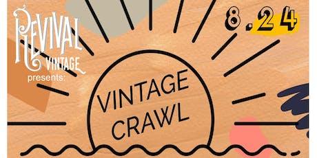 Vintage Crawl presented by Revival Vintage tickets