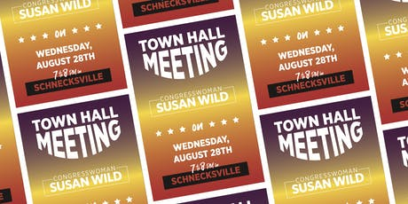 Town Hall Meeting with Congresswoman Susan Wild tickets