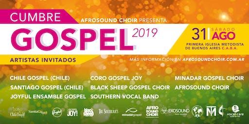 CUMBRE GOSPEL 2019 - Sabado 31/Agosto, 20:00 hs