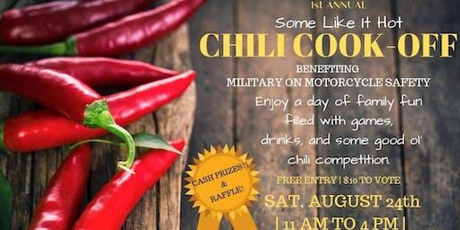 MOMS Chili Cook Off
