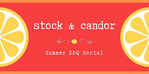Stock & Candor Summer Social
