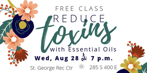 Reduce Toxins with Essential Oils