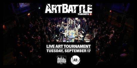 Art Battle Toronto - September 17, 2019 tickets