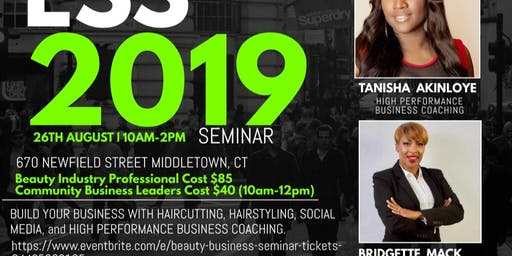 Beauty Business 2019 Seminar