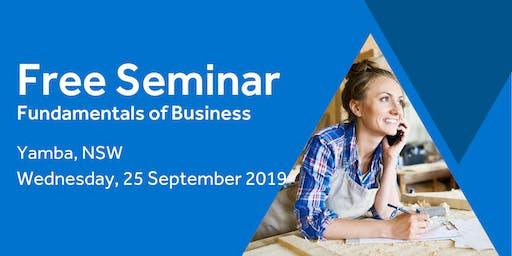 Free Seminar: Business Basics 101 – Yamba, 25th September