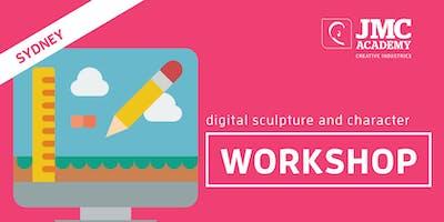 Digital Sculpture + Character Workshop (JMC Sydney) 1st Oct 2019
