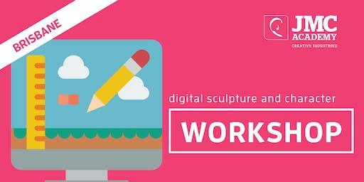 Digital Sculpture + Character Workshop (JMC Brisbane) 1st Oct 2019