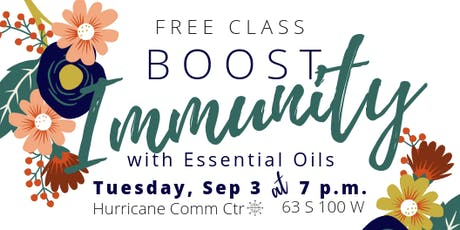 Boost Immunity with Essential Oils tickets