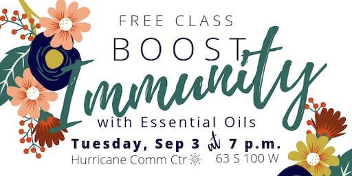 Boost Immunity with Essential Oils