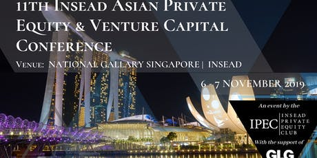 IPEC's 11th Asian PE&VC Conference at INSEAD tickets