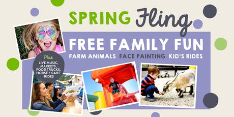 Spring Fling - Free Family Fun - Rides, Music, Facepainting tickets