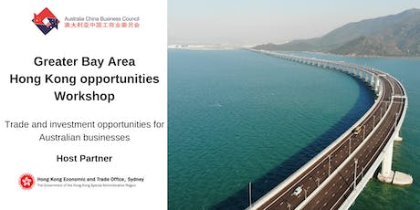 Greater Bay Area – Hong Kong opportunities workshop tickets