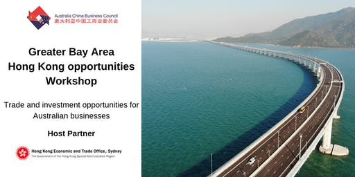 Greater Bay Area – Hong Kong opportunities workshop