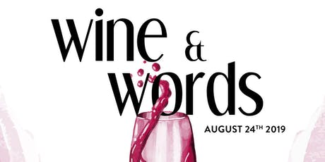 Wine & Words tickets