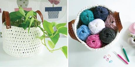 Crochet Basket tickets