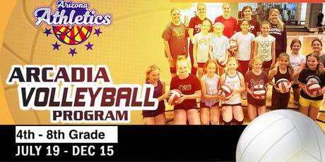 Arcadia Volleyball 4th - 8th Grade Youth Girls  tickets