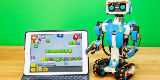 Lego Robots Parent and Child (7+) Activity @ Kingston Library