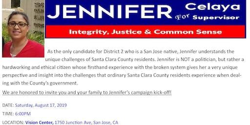 Jennifer Celaya 4 Supervisor D2 2020 Campaign Kick-Off