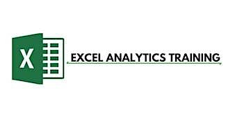 Excel Analytics 3 Days Virtual Live Training in Waterloo