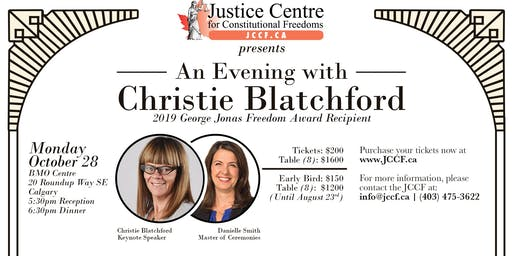An Evening with Christie Blatchford in Calgary