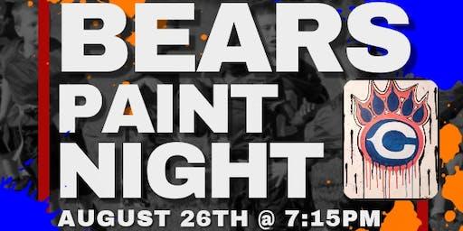 Bears Paint Night