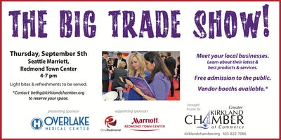 OneEastside Business Trade Show EXHIBITOR REGISTRATION