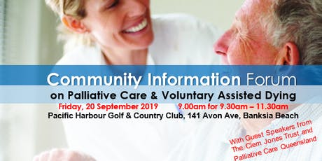 Community Information Session on Palliative Care and Voluntary Assisted Dying tickets