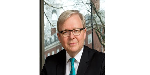 Lecture by the Hon Dr Kevin Rudd: Alternative Visions for Australia's Future