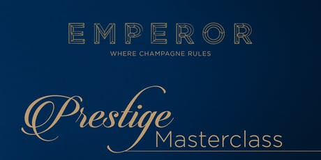 Prestige Cuvee Champagne Masterclass tickets