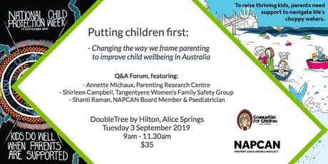 National Child Protection Week Q&A Forum, Alice Springs	 tickets