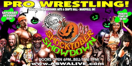 Live Pro Wrestling: ASWA Shocktober Showdown 2019! tickets