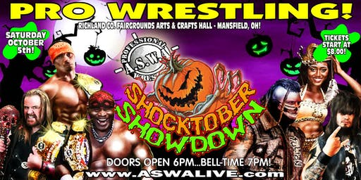 Live Pro Wrestling: ASWA Shocktober Showdown 2019!
