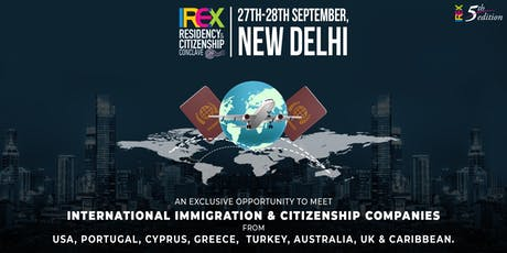 IREX Residency & Citizenship Conclave 2019, New Delhi tickets
