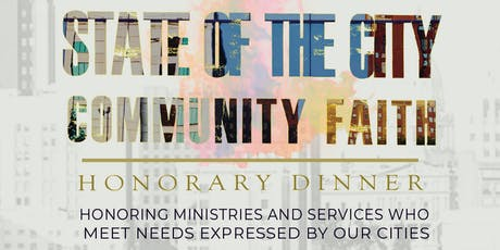 State of the City | Community Faith Dinner tickets