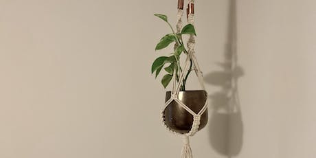 FINE ARTS | Macrame Hanging Planters tickets
