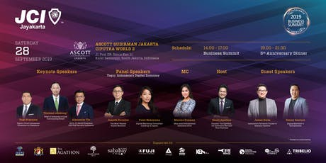 BUSINESS SUMMIT 2019 JCI JAYAKARTA tickets