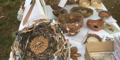 Basketry using Random Weaving with Therese Flynn-Clarke SATURDAY PM